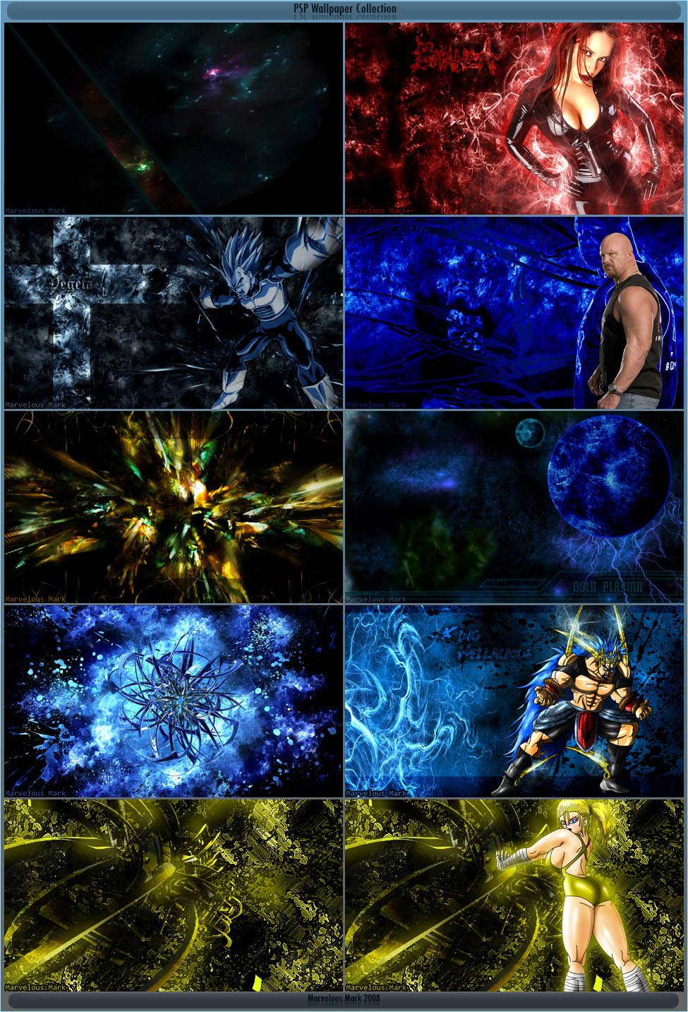 PSP Wallpaper Collection by MarvelousMark 975x1433