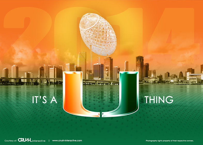50 Entries In University Of Miami Football Wallpapers Group