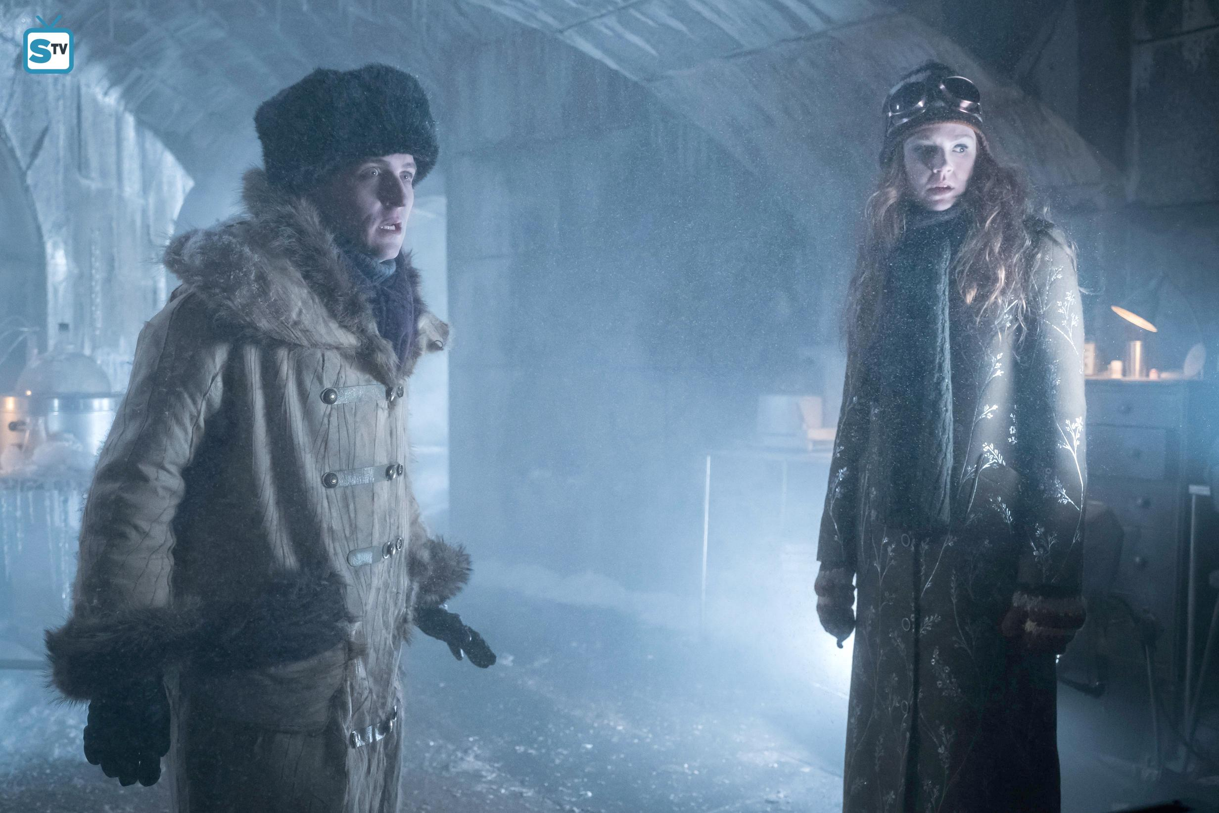 Gotham images 3x17   The Primal Riddle   Penguin and Ivy HD 2464x1643