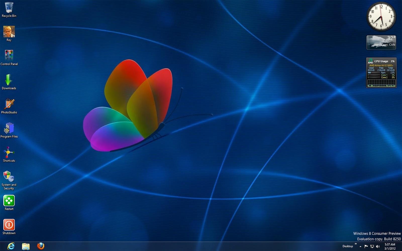 Free download Desktop Icons Windows 7 Desktop Is Blank