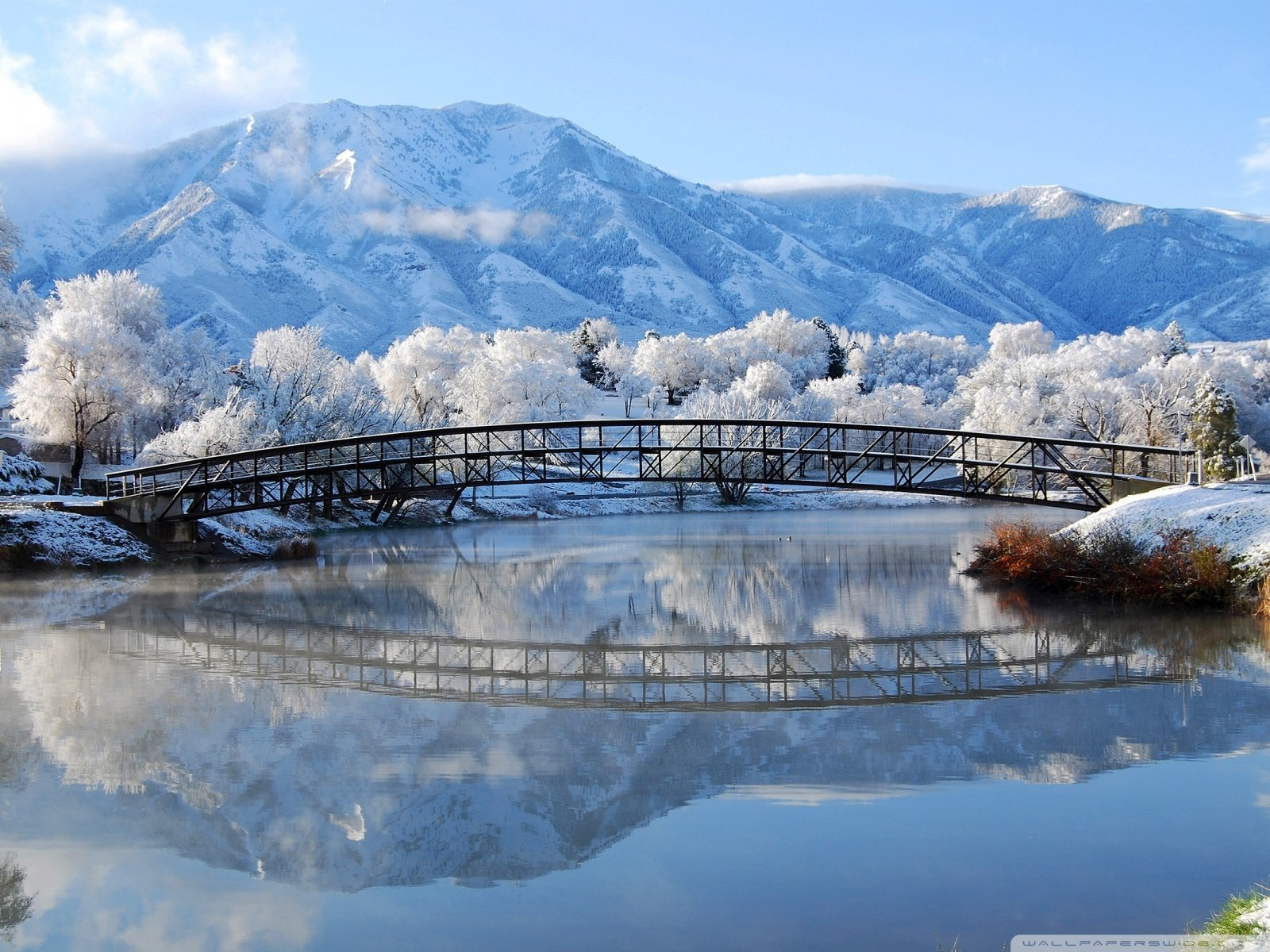 Beautiful Winter Scene 4K HD Desktop Wallpaper for 4K Ultra HD 1600x1200