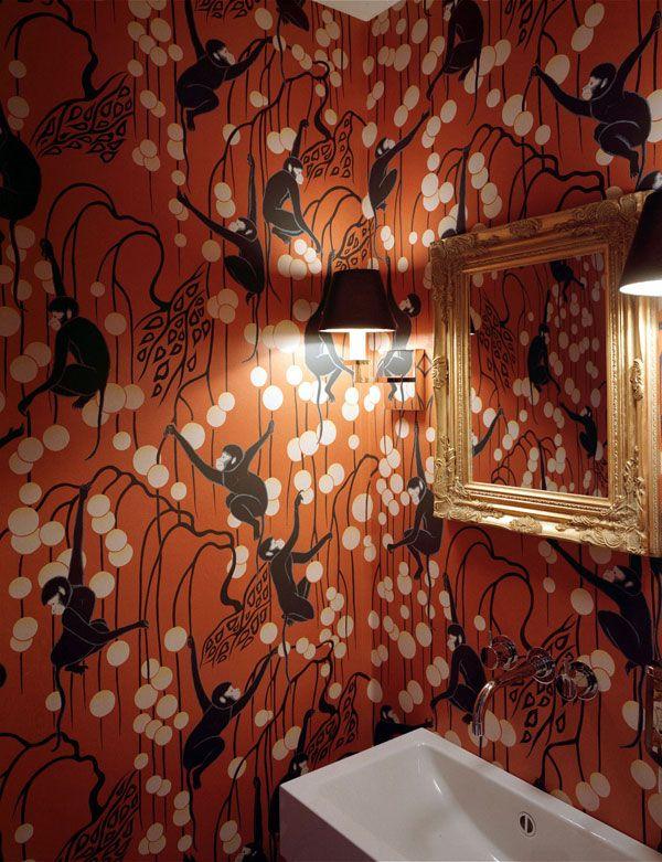 de Gournay hand painted wallpaper Decoracion Pinterest 600x781