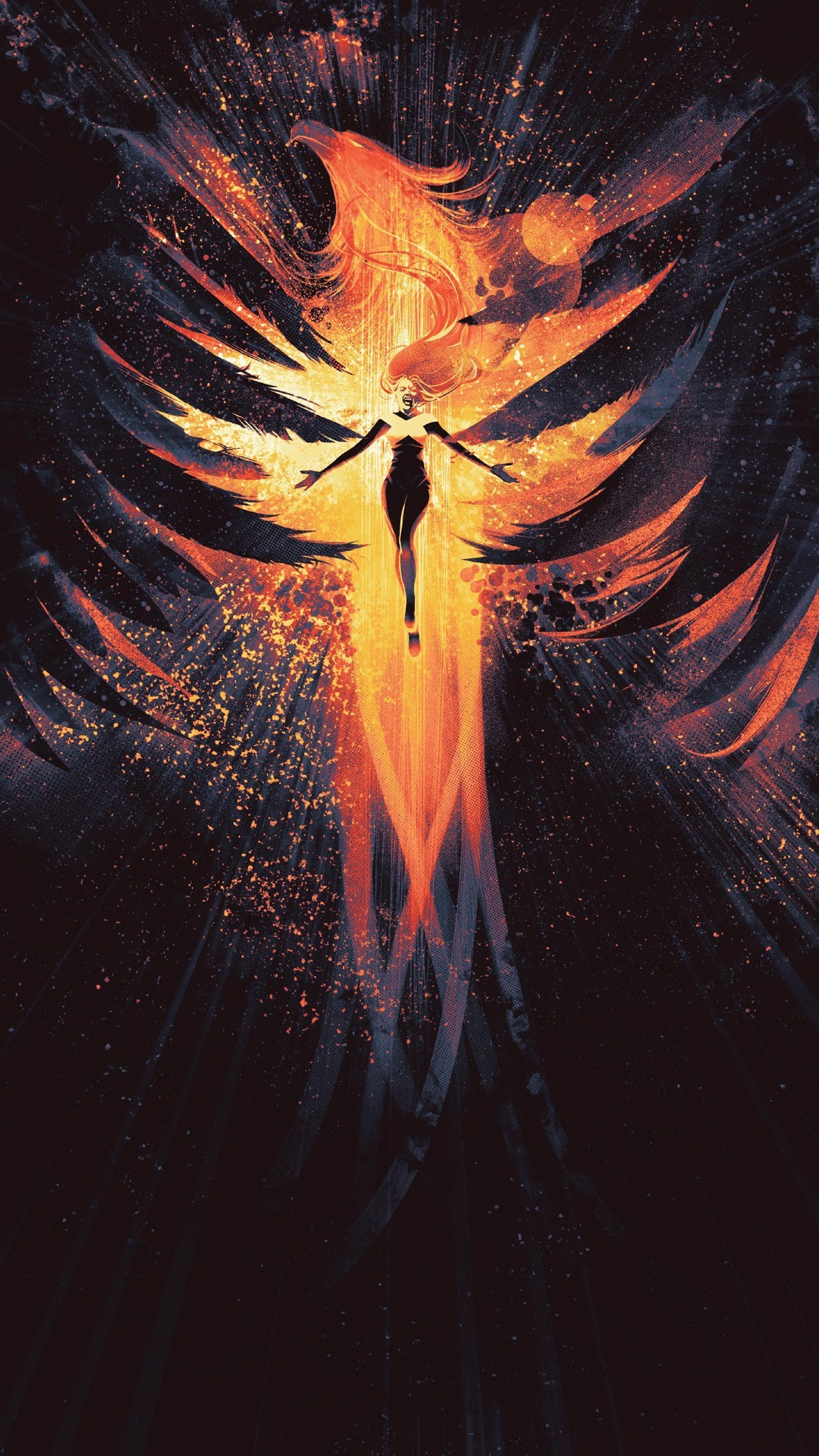 Dark Phoenix 2019 Android Wallpaper   2019 Android Wallpapers 1080x1920