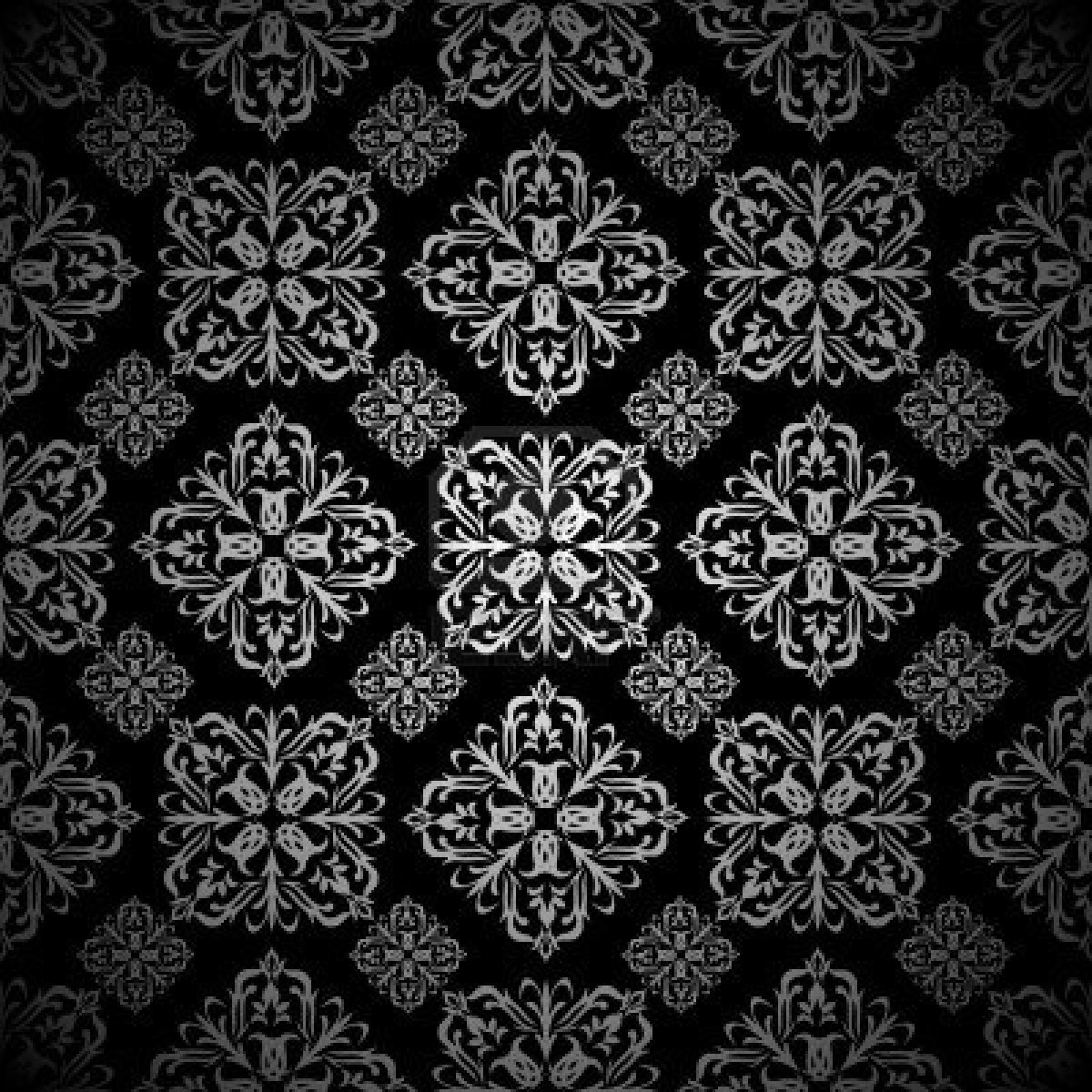 7223443 silver and black seamless tile background wallpaper pattern 1200x1200