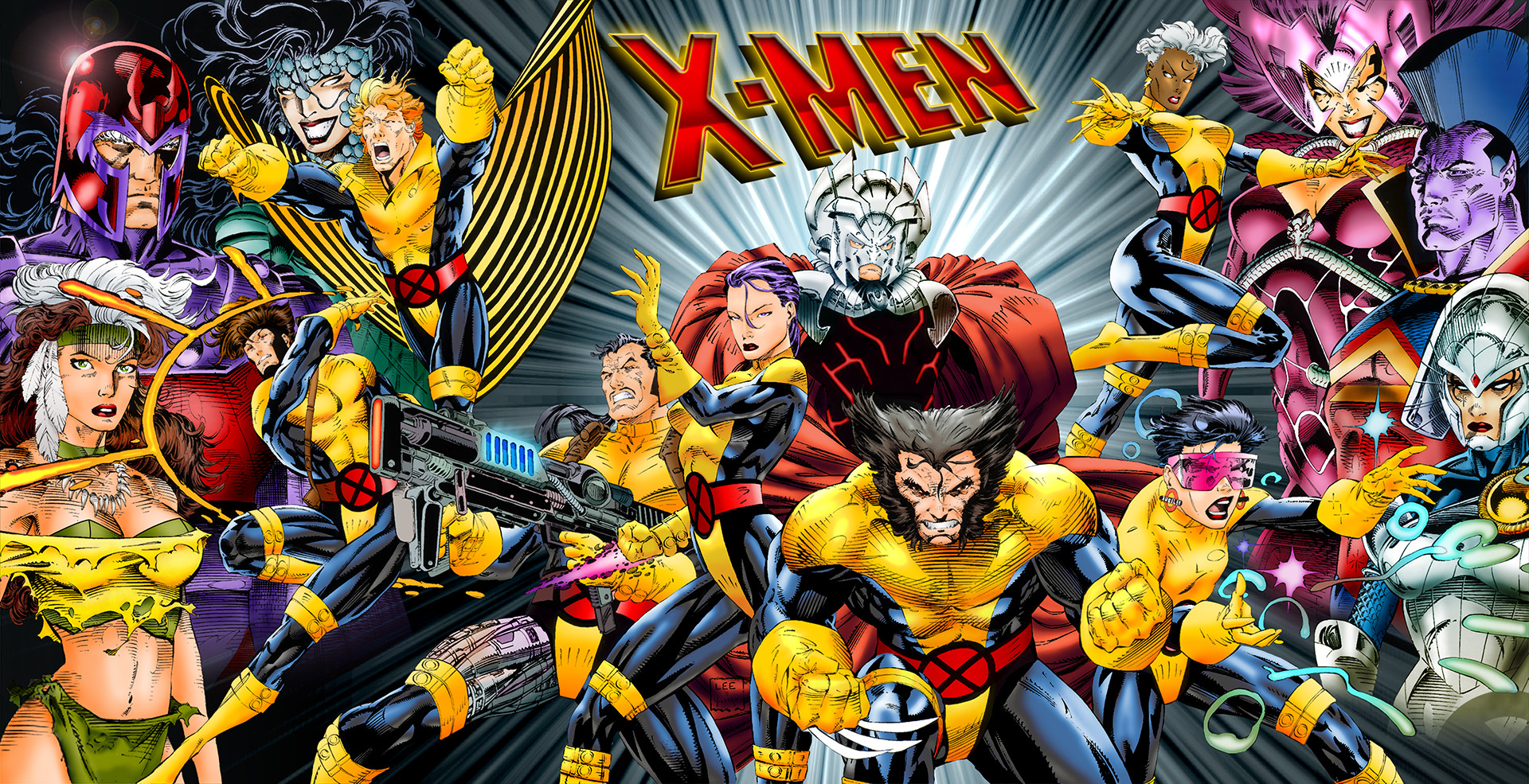 File Name X Men Comic Cartoon Wallpaper 1920x985