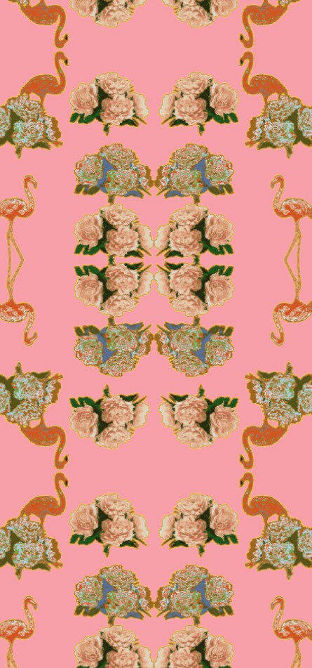 Repositionable removable wallpaper by Barbeline on Etsy 445x951