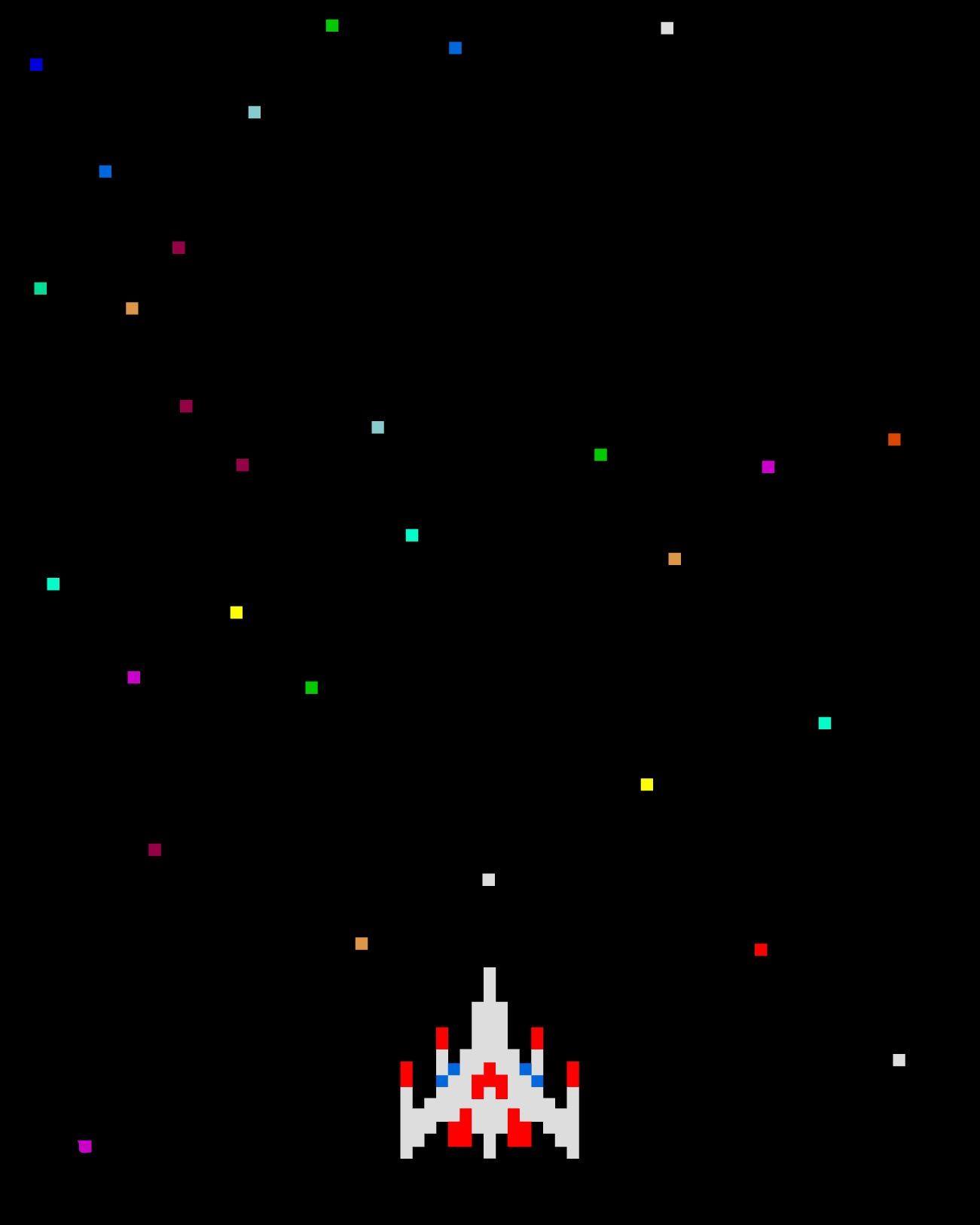 Galaga Background