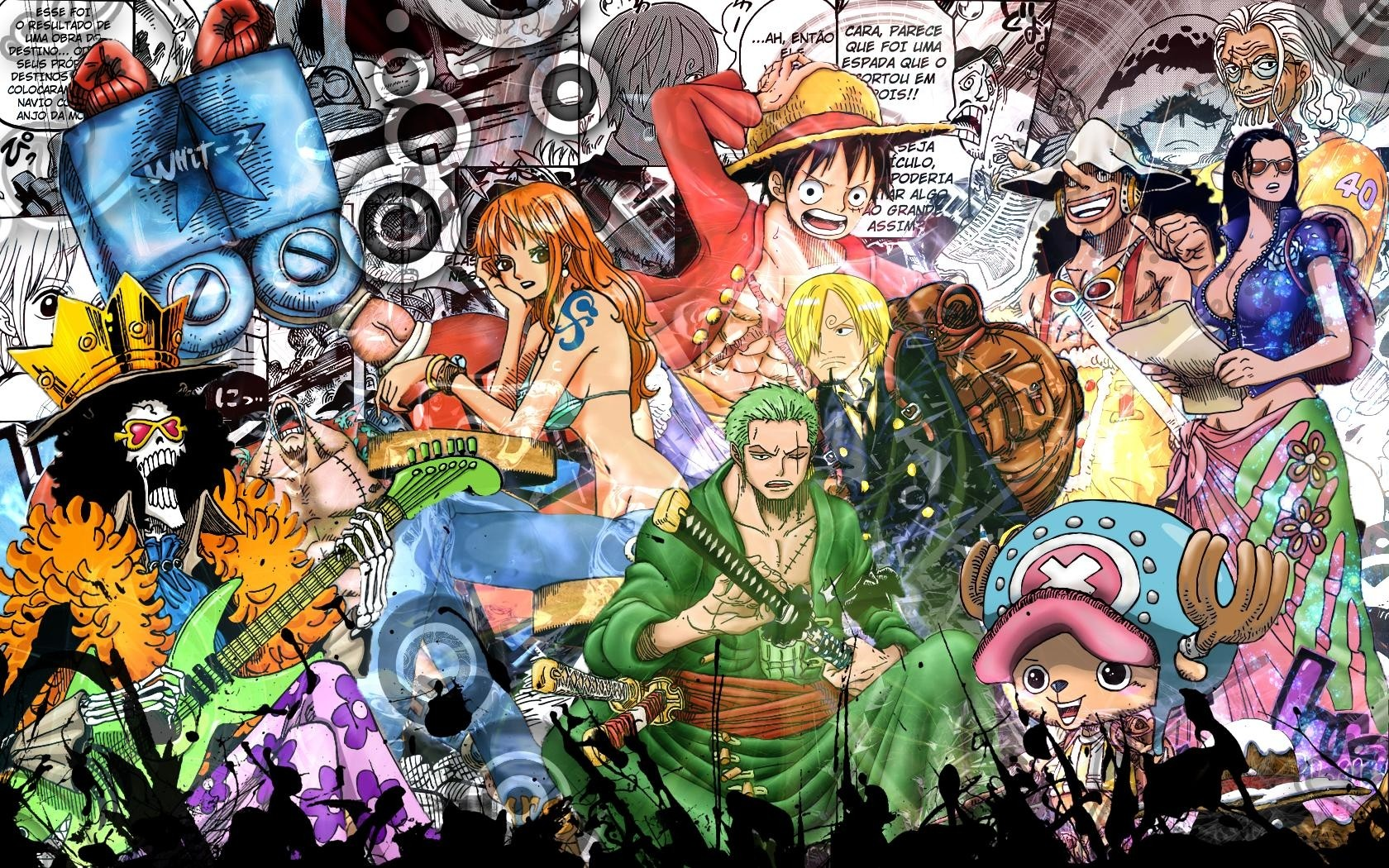 One Piece Wallpaper Hd 1366x768 1680x1050