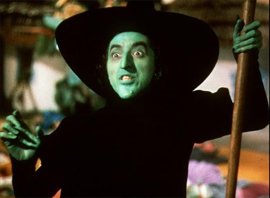The Wicked Witch of the West a Tragic Figure Grail Diary 550x404