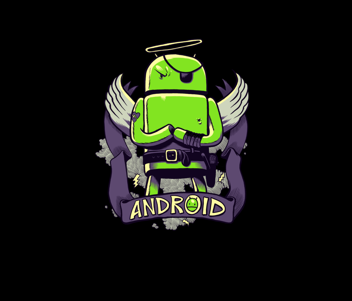 New Android wallpaper The Underdog available in 3 colors Android 1200x1024