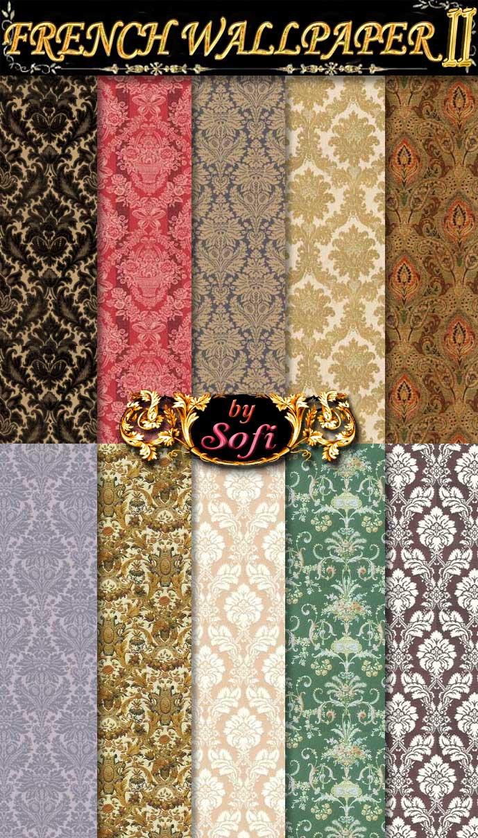 French Wallpaper Patterns 2 by sofi01 689x1209