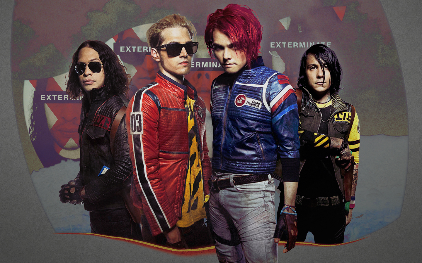 My Chemical Romance images KILLJOYS HD wallpaper and 1440x900