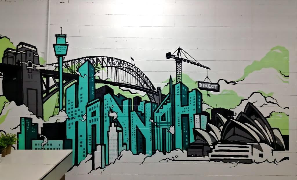 Graffiti Murals Office space graffiti murals 1024x619