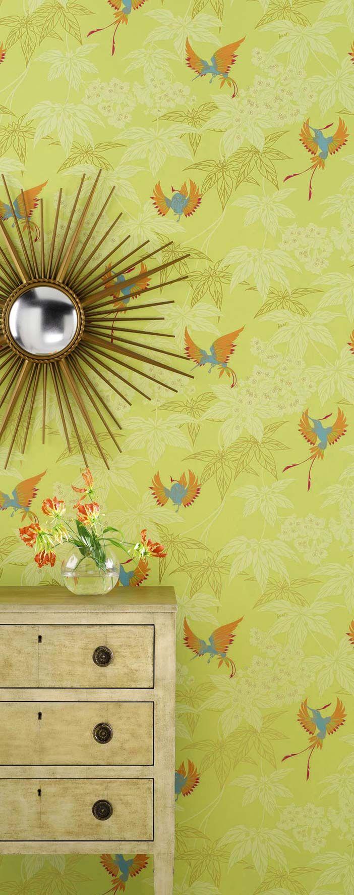 50 Osborne And Little Koi Wallpaper On Wallpapersafari
