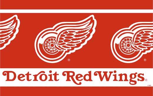 Detroit Red Wings Wallpaper Border 519x324