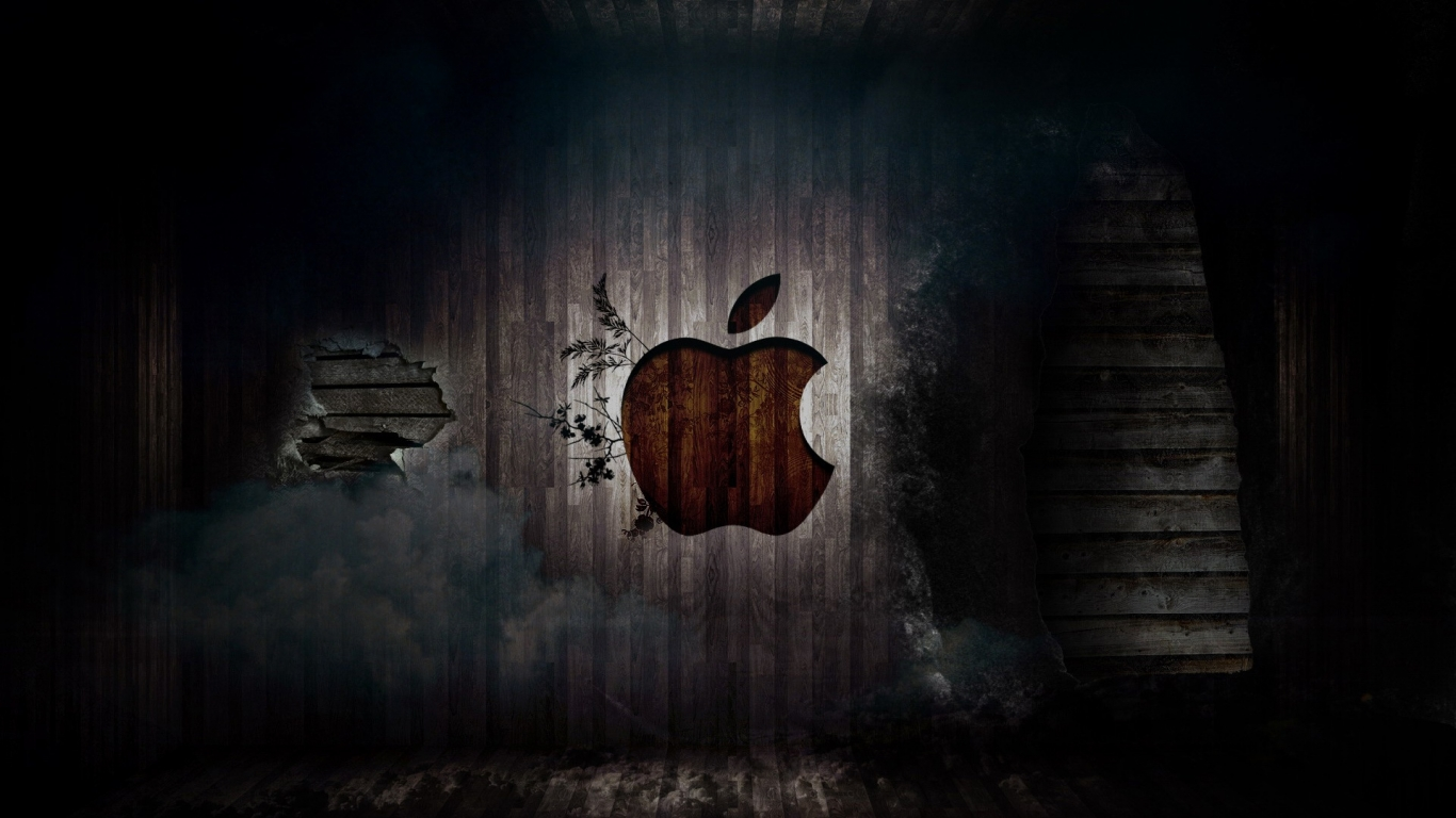 Full HD Wallpapers Apple HD Apple Logo Wallpapers Apple Full HD 1366x768