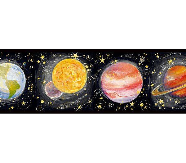 Solar System Wallpaper Border Wallpapersafari