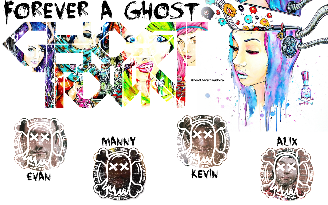 Ghost Town Band Wallpaper Images Pictures   Becuo 1280x800