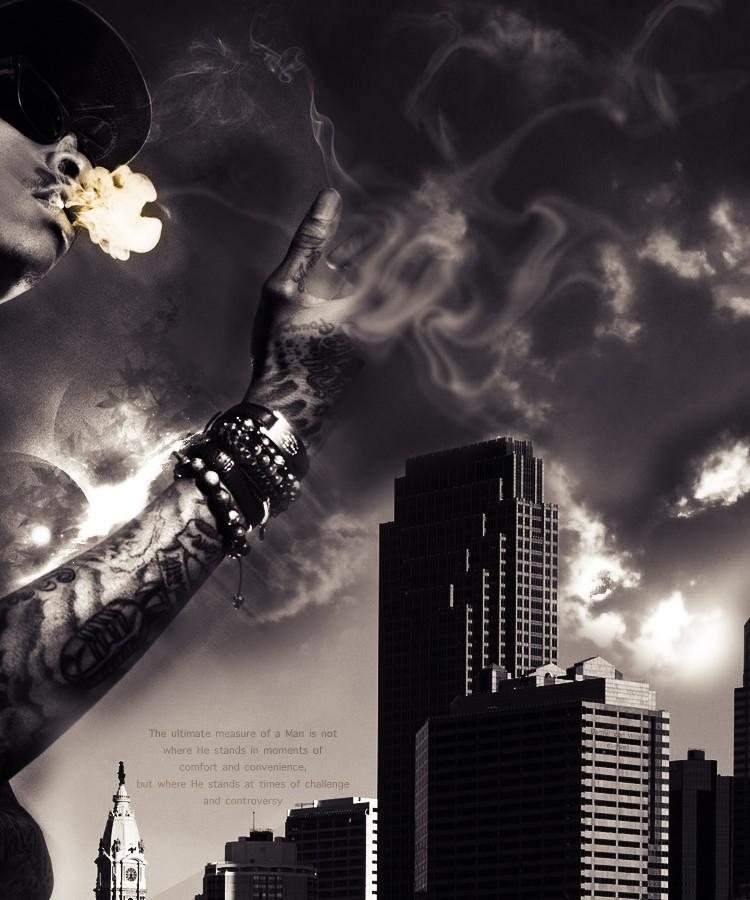 Wiz Khalifa Smoking 2 Rap Wallpapers 750x900