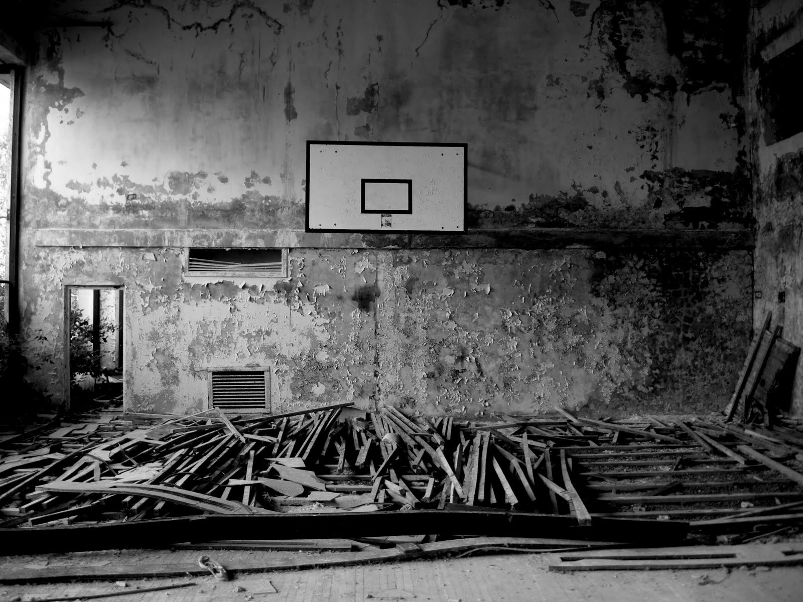 Basketball Court Wallpapers   Top Basketball Court 1600x1200