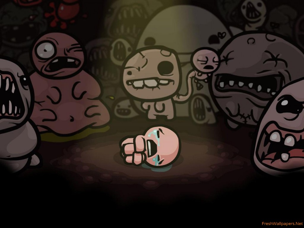 The Binding of Isaac wallpapers Freshwallpapers 1024x768