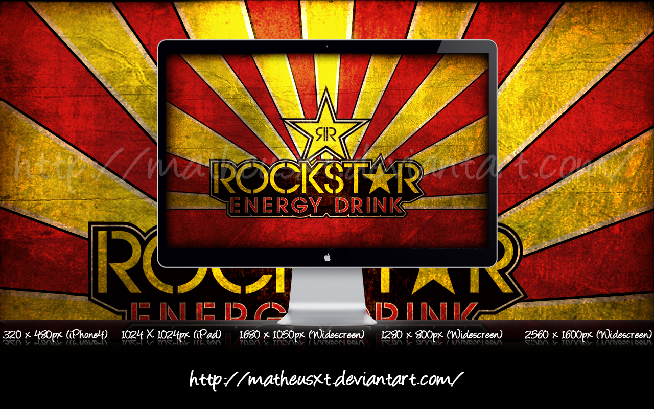 Rockstar Energy Drink Iphone Wallpaper Images Pictures   Becuo 1280x800
