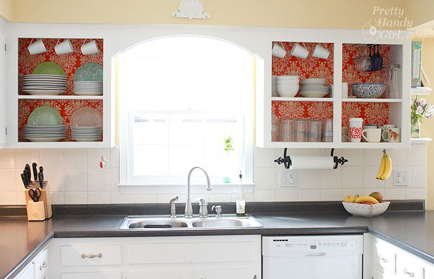 DIY Project Kitchen Cabinet Update Decorating Your Small Space 629x404