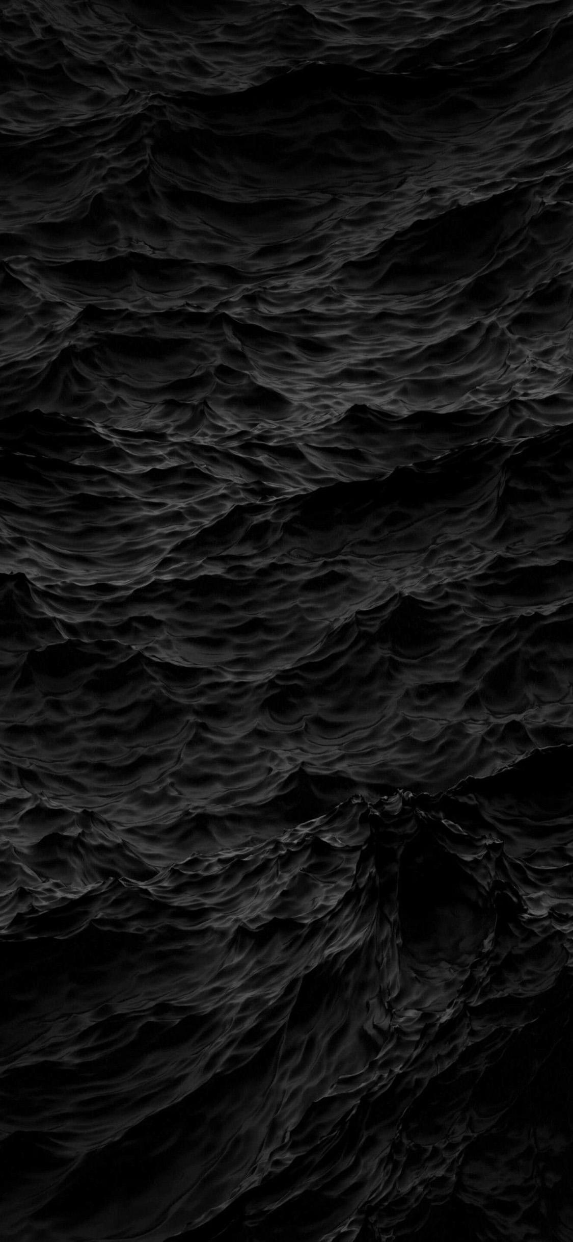 4K Black Wallpapers for Desktop iPad iPhone 1125x2436