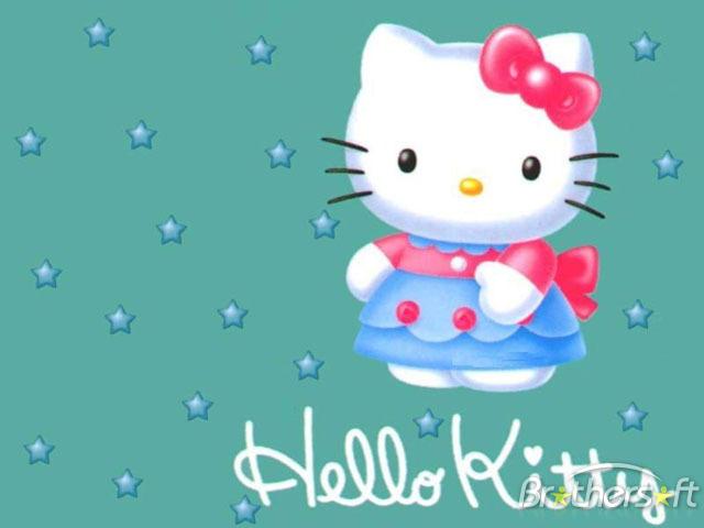 Screensaver windows 7 hello kitty 640x480