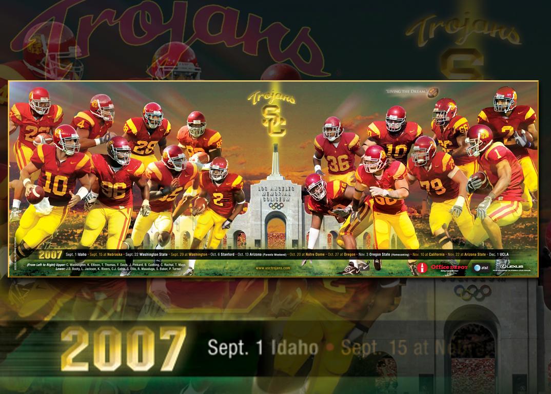 USC football poster 2007   myUSC 1074x768