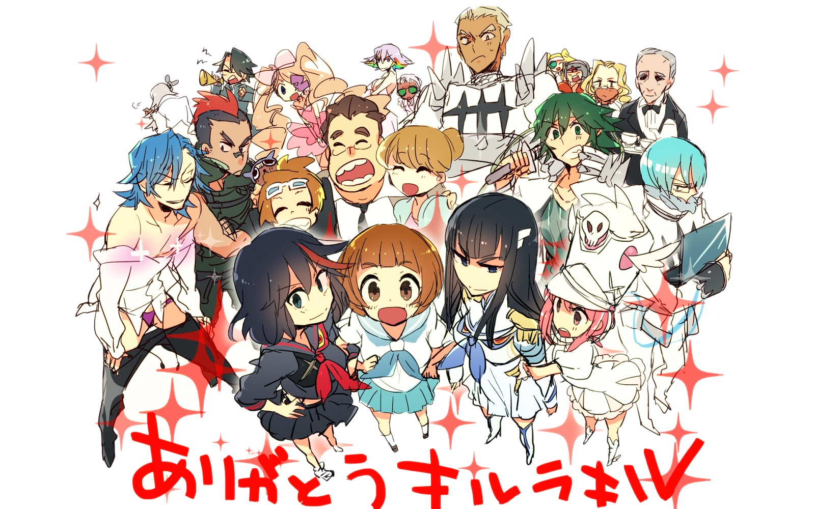Kill la Kill Anime 61 HD Wallpaper 1600x1000