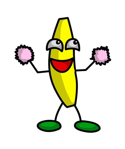 Moving Pictures Banana Funny Banana Pictures Cool 419x500