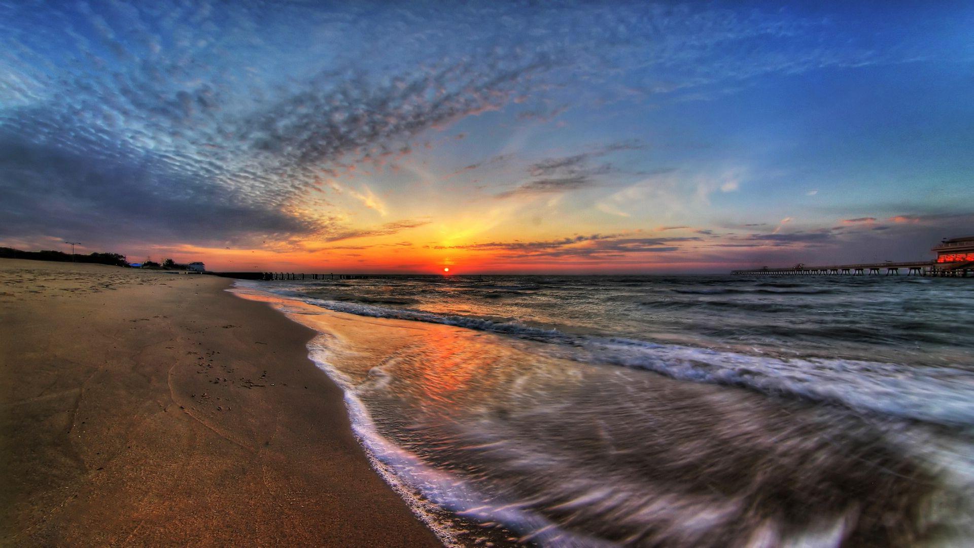 Sunset On The Beach Wallpaper Amazing #53w0bai2 – Yoanu