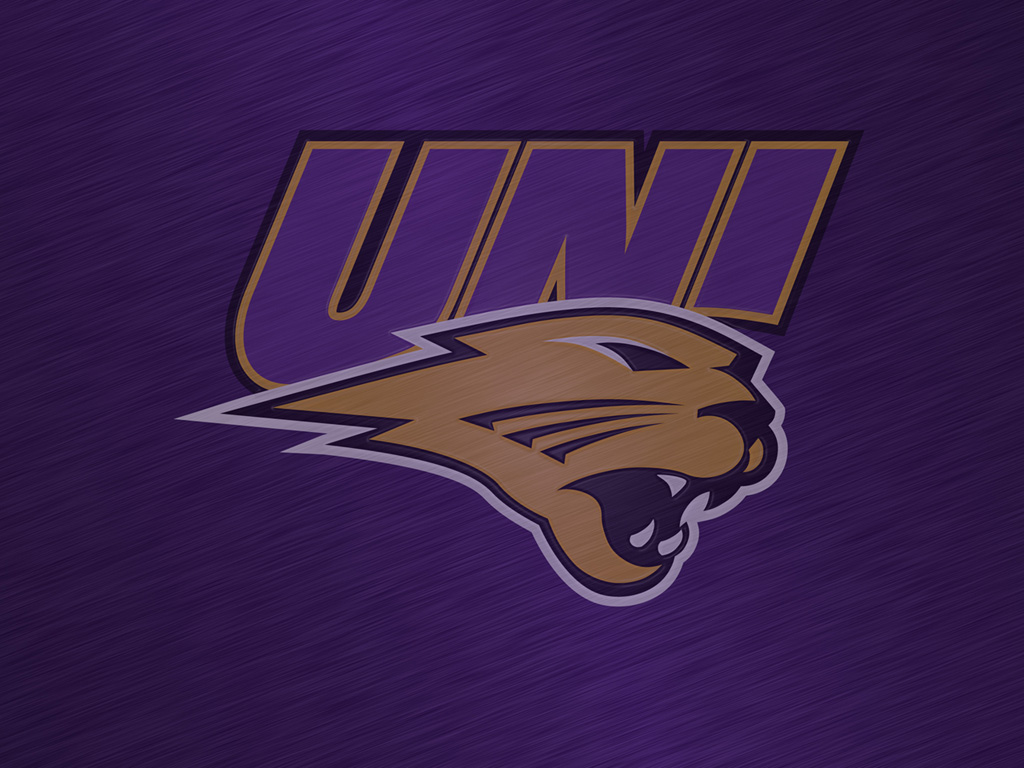 University of Northern Iowa Panthers Logo Wallpapers all monitor 1024x768