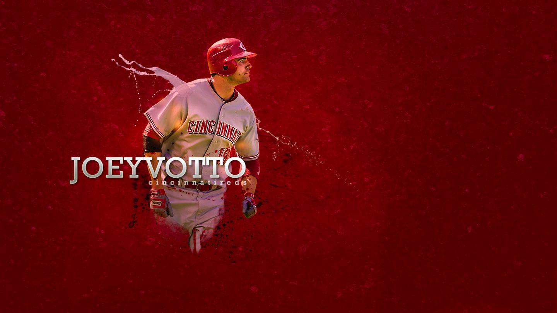 Wallpapers   Joey Votto Cincinnati Reds 1440x810 wallpaper 1440x810