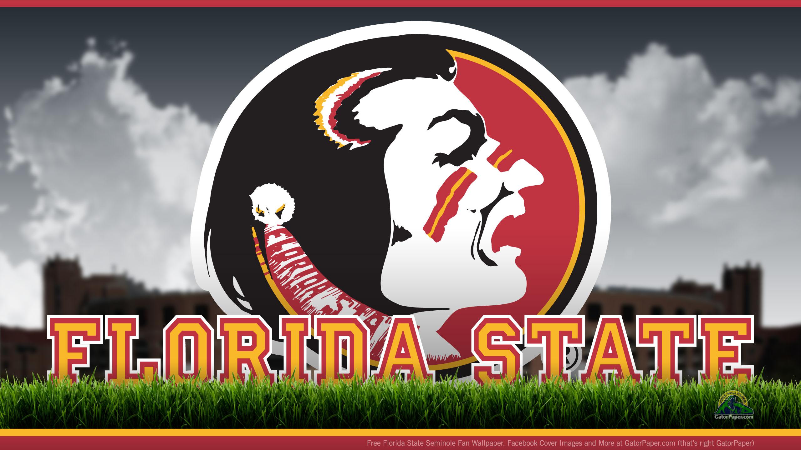 Florida State Seminoles Field Level GatorPaper   Sports 2560x1440