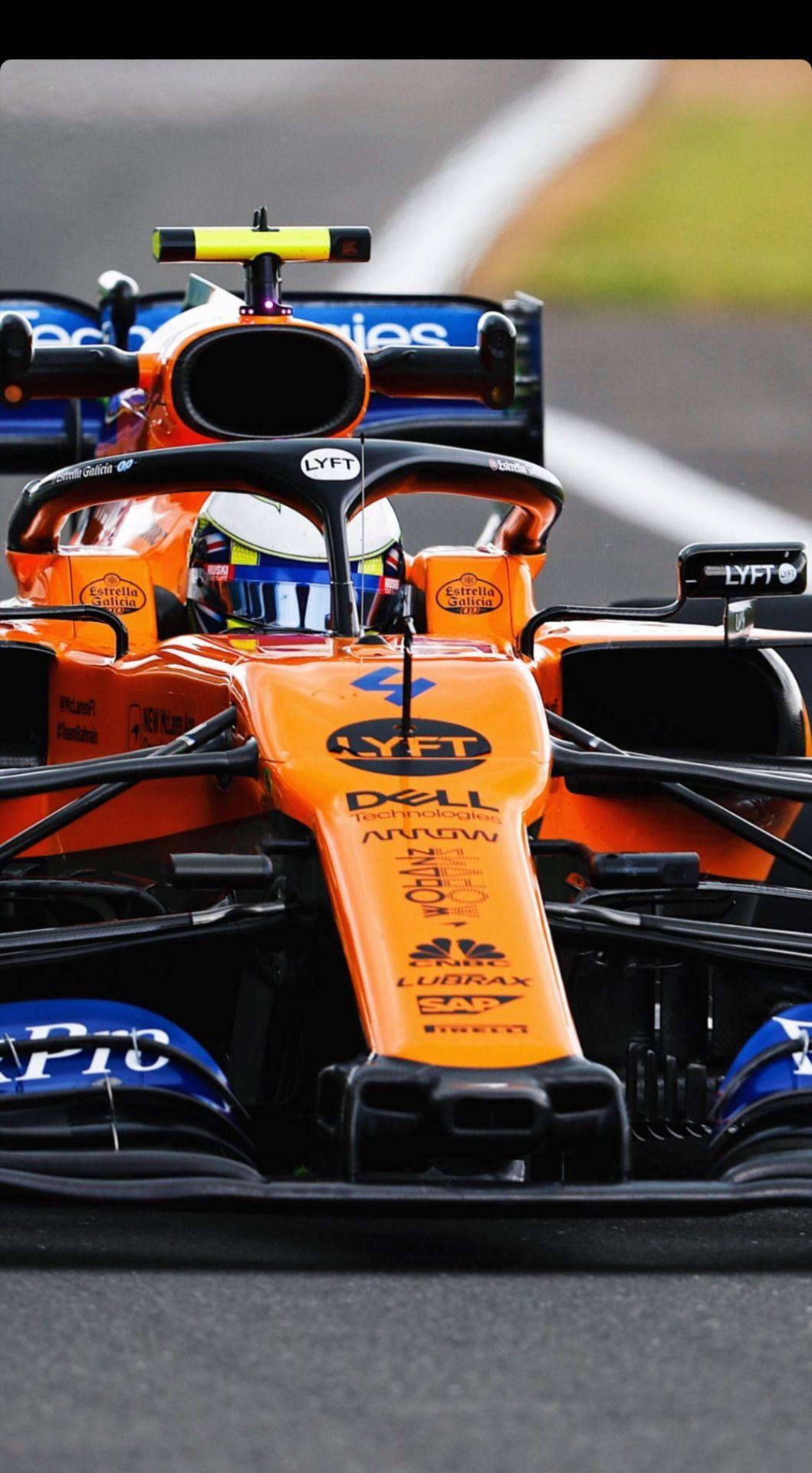 Lando Norris   British GP 2019   Phone Wallpaper Formula 1 car 1059x1920