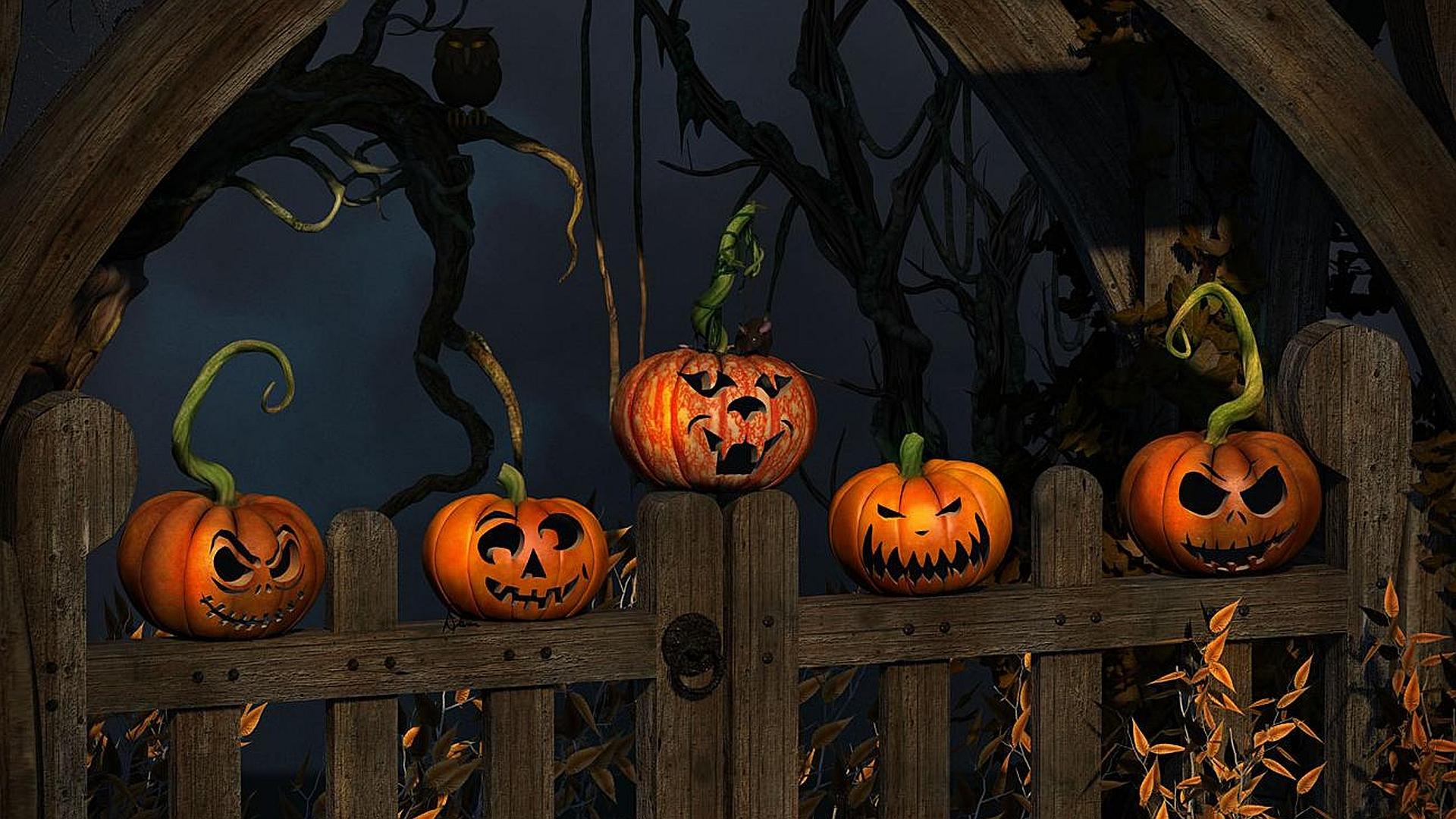 Halloween Desktop Wallpaper 1920X1080