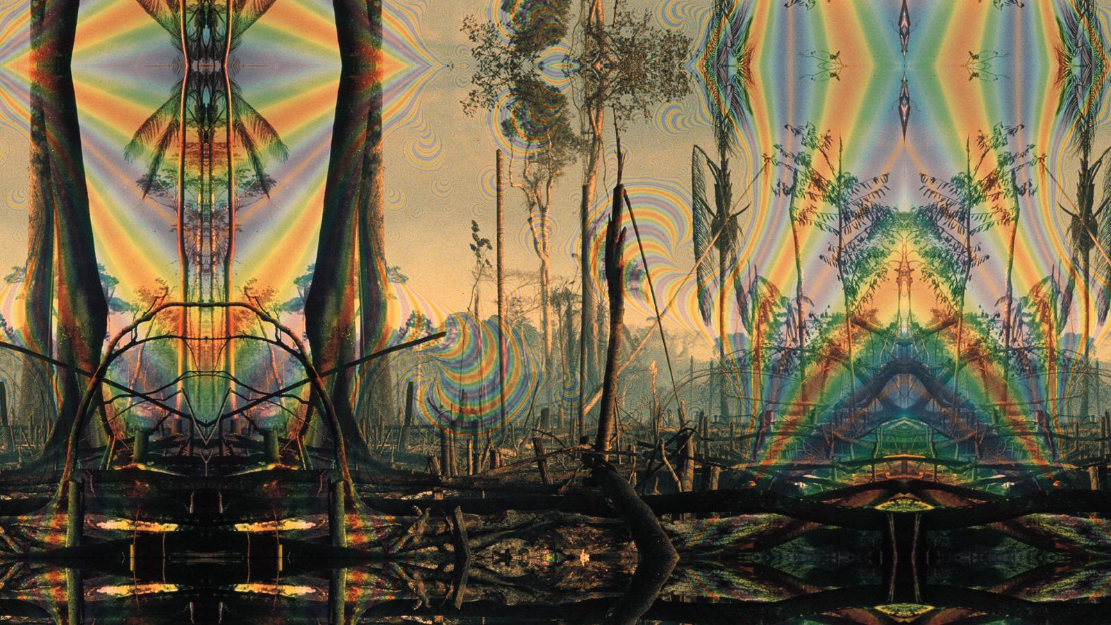 75 Trippy Landscape Wallpaper On Wallpapersafari
