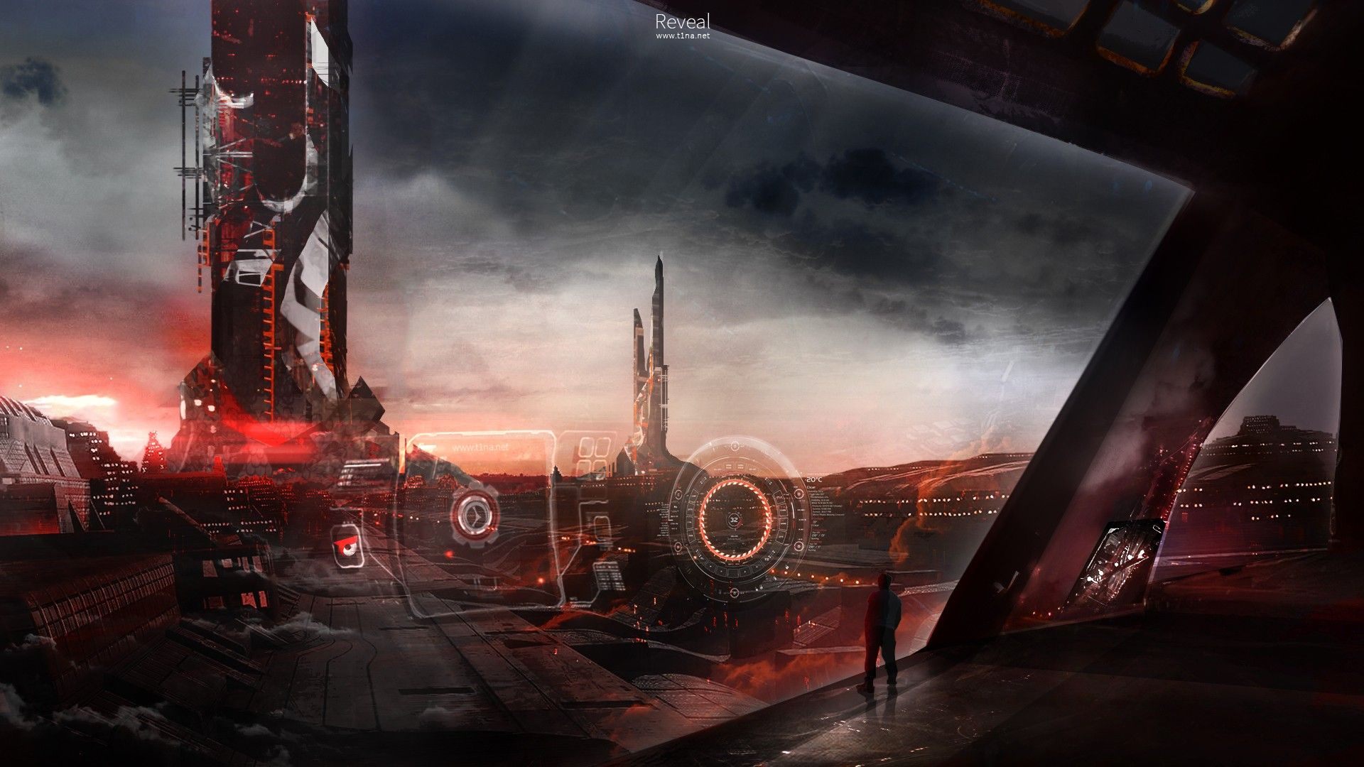 Free Download Science Fiction Interface Hd Wallpaper