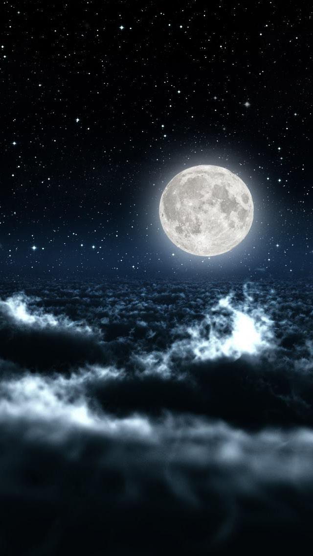 Sky Night Wallpaper   iPhone Wallpapers 640x1136