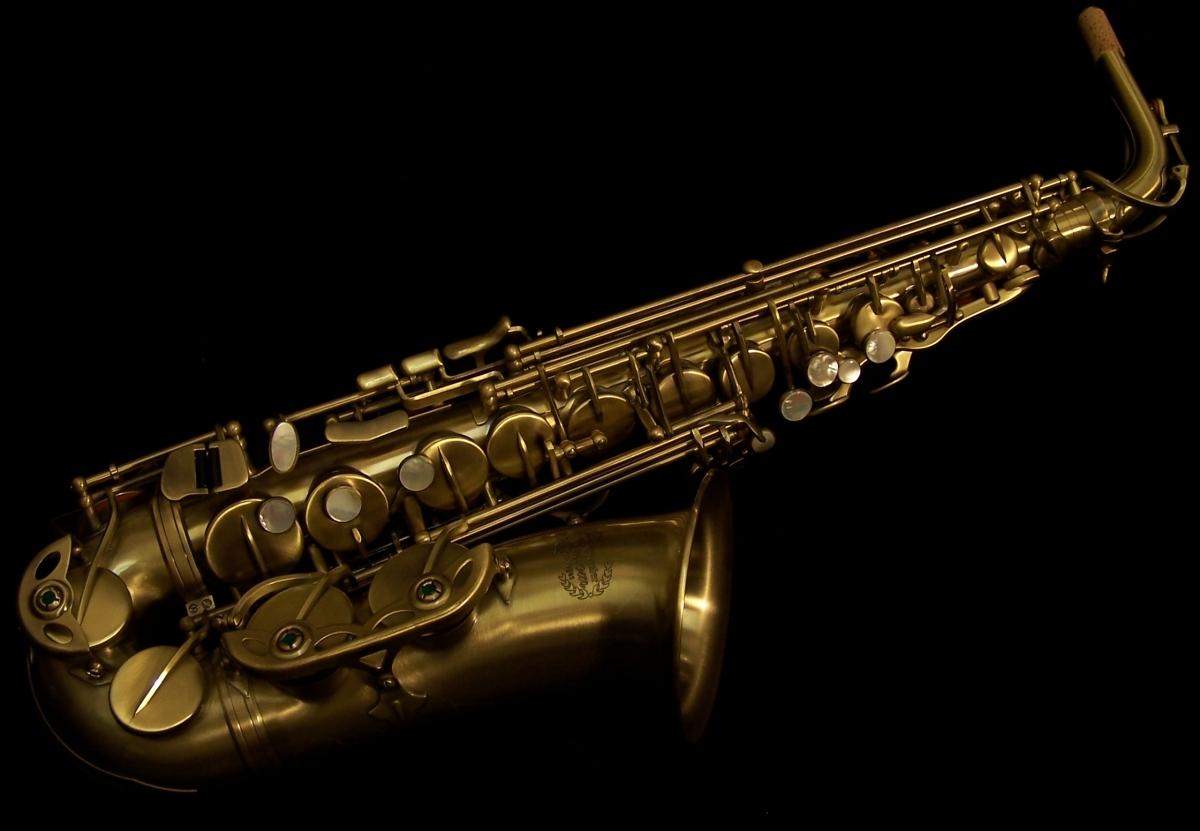 Kessler Custom Standard Series Alto Sax   Vintage Antique 1200x831