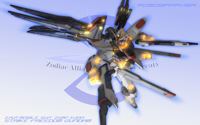 Mobile Suit Gundam SEED Destiny Wallpapers Strike Freedom Gundam 790x494