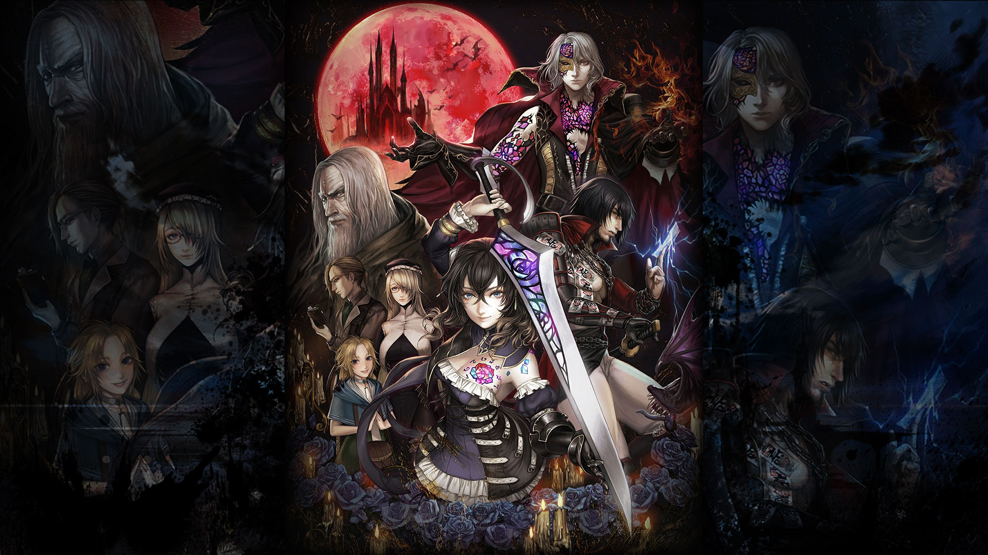 Bloodstained   Ritual of the Night Wallpaper 1920x1080   Mana 1920x1080