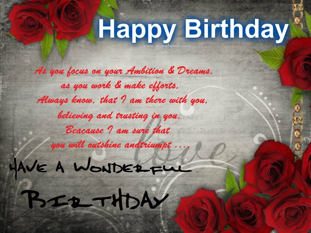Happy Birthday Wishes Images Wallpapers Nawabzade 1023x767