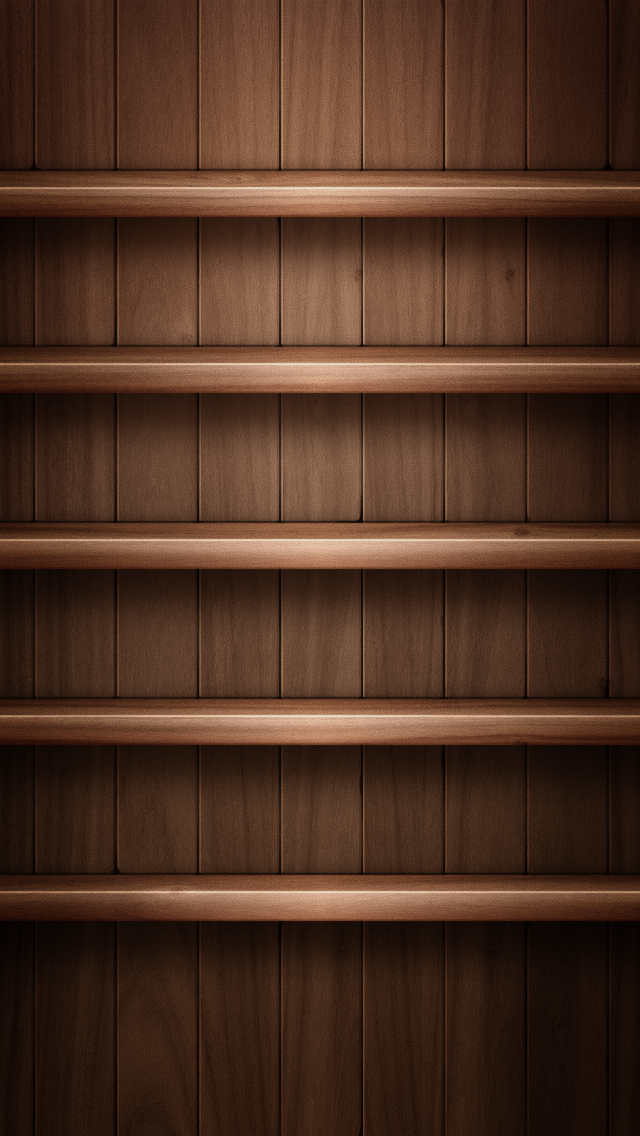 iPhone 5 Background Wooden Shelf 03 iPhone 5 Wallpapers iPhone 5 640x1136