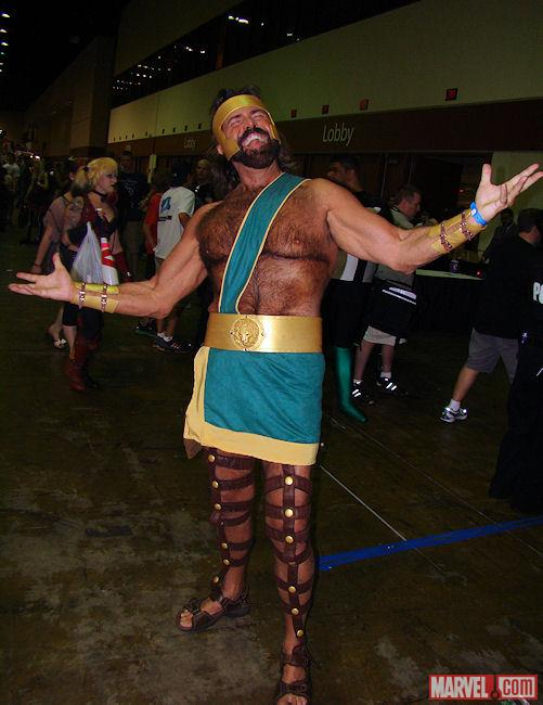 Marvel Cosplay Hercules at Megacon Marvelcom 501x650