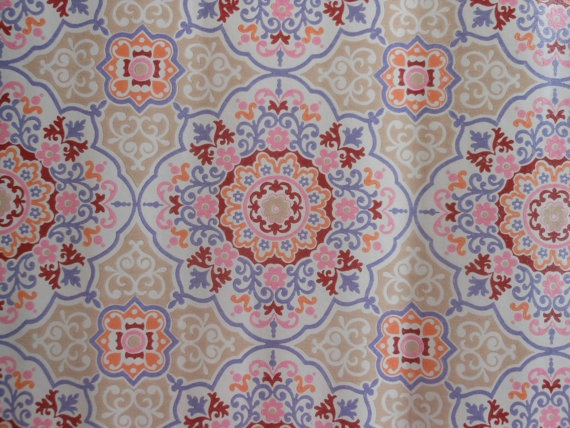 1970s Retro Wallpaper 450 via Etsy Patterns Pinterest 570x428
