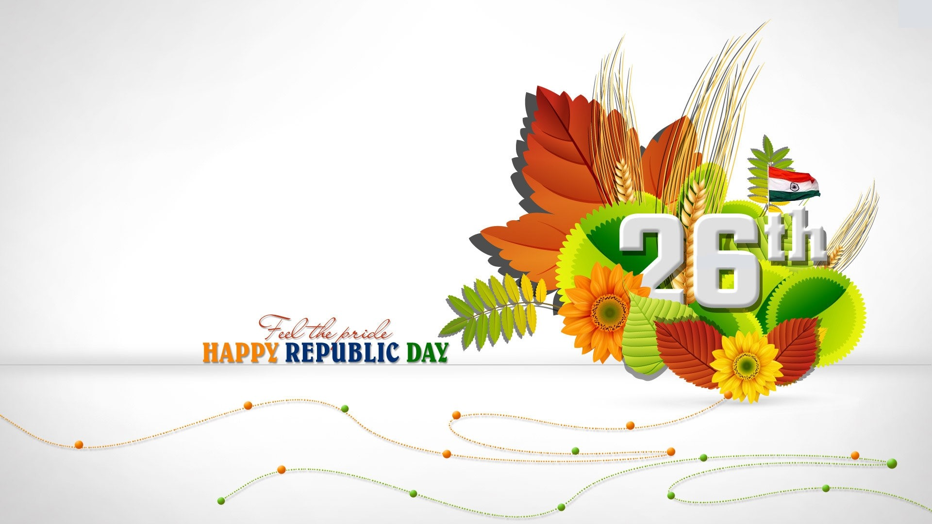 Amazing 26 January Happy Republic Day Greetings HD Wallpapers HD 1920x1080