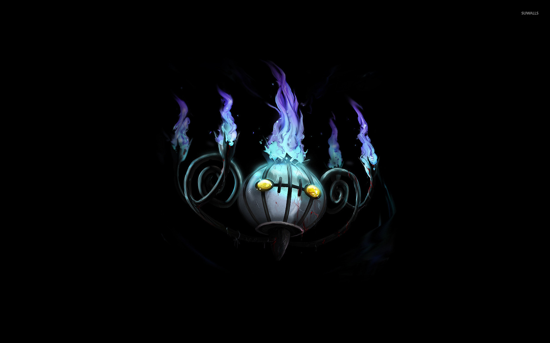Chandelure   Pokemon wallpaper 1366x768 1366x768